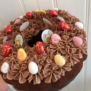 Easter bundt cake ready for the weekend!
