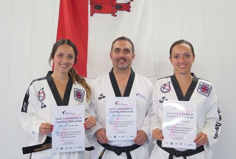 Level 2 Certificate in Coaching Taekwondo
