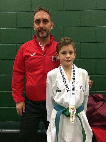 Ilya becomes British National Champion- Nottingham November 2016