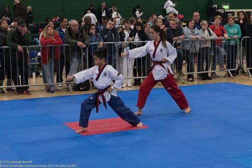 Macy Cornelio - British Taekwondo National Poomsae Championships - Nottingham November 2016
