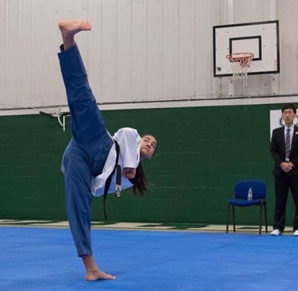 Megan Ruiz - British Taekwondo National Poomsae Championships - Nottingham November 2016