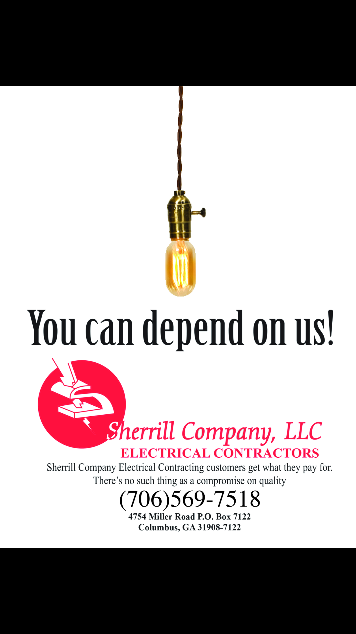 You can depend on us!
