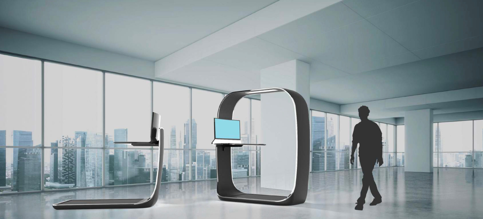 Porsche Design _Mathieson_Walking_office