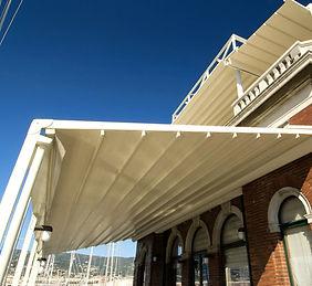Pergole in alluminio, tettoie e coperture per terrazzo e giardono in provincia di Venezia e provincia di Padova.