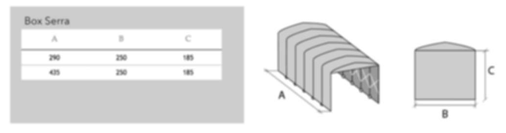 Misure Box PVC Parete