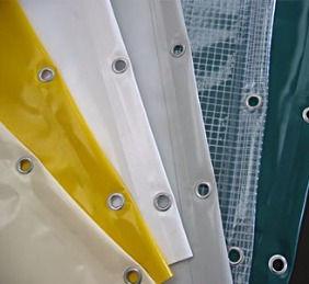 Teloni in PVC, teloni in acrilico, teloni ombreggianti, coperture PVC, occhielli a Padova, Venezia e Ferrara.