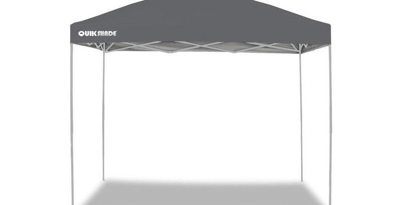 Quik Shade Gazebo pieghevole portatile m. 3x3 - GRIGIO