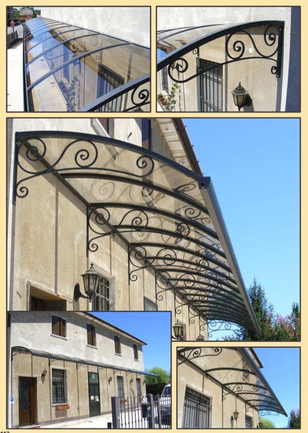 Pensiline policarbonato Verona