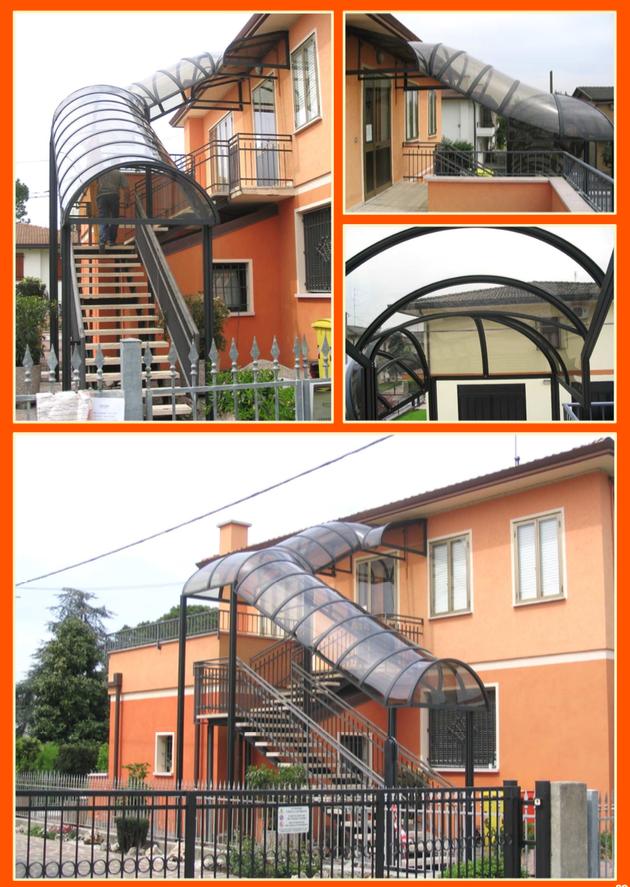 Pensiline policarbonato Milano
