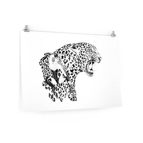 Phoenix the Jaguar Premium Matte horizontal posters