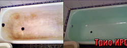 Реставрация ванн фото