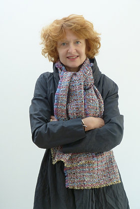 Foulard en tweed femme