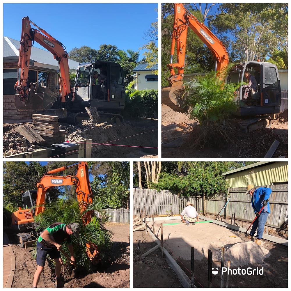 Building an award-winning TG's garden at Urangan