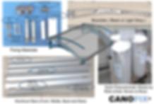 Canofix Canopy Components