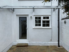 CANOFIX Door Canopy 1500x3000 Grey Clear
