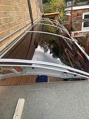 CANOFIX Door Canopy 1270x6000 Grey Bronz