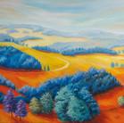 """""""Weites Land"""" 80 x 60 cm"""