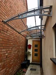 Canofix Door Canopy PC 1270x4000 Grey Cl