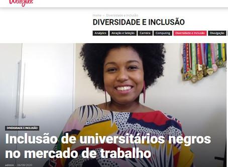Inclusão de universitários negros no mercado de trabalho por Andressa Gonçalves
