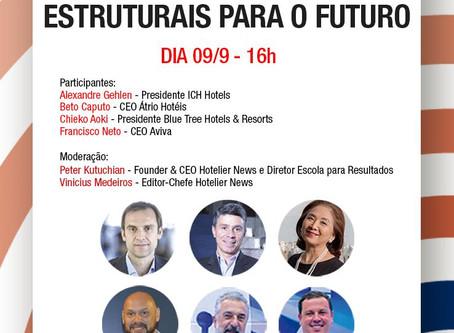 Hotelier News - CEO's analisam questões estruturais para o futuro