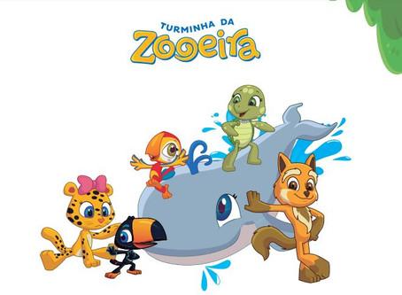 Deixe seu dia mais colorido brincando de colorir com a Turminha da Zooeira!