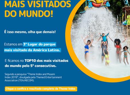 Hot Park nos mais visitados do Mundo! 💦
