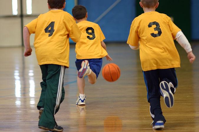 jeu de basket-ball