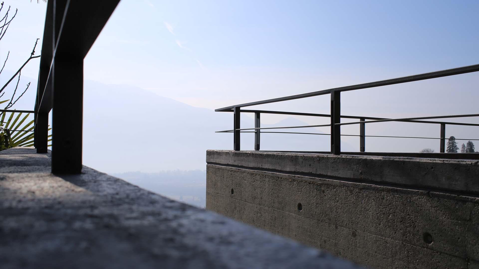 parapetto terrazza casa Cavalli
