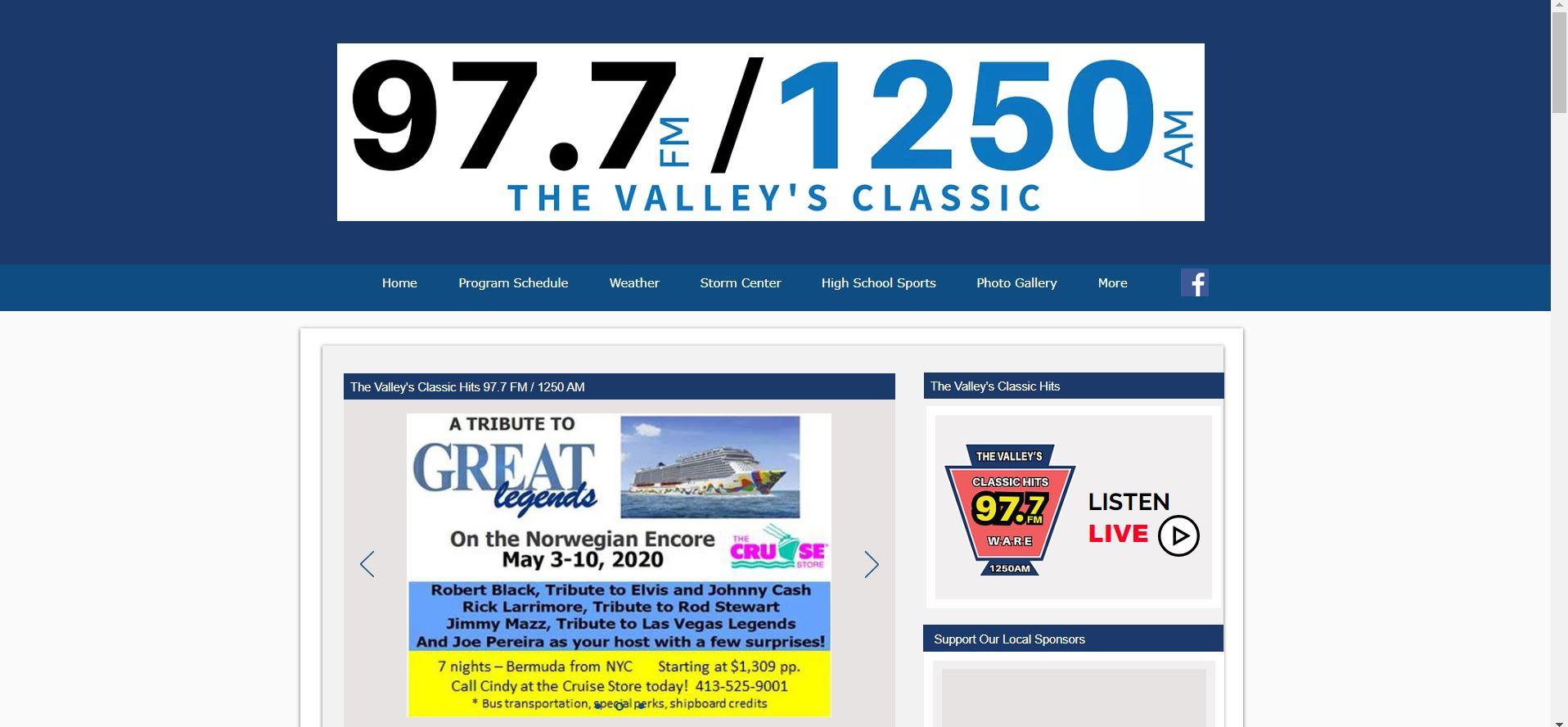 Classic Hits 97.7 FM / 1250 AM