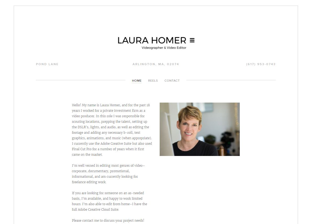 Laura Homer Videographer