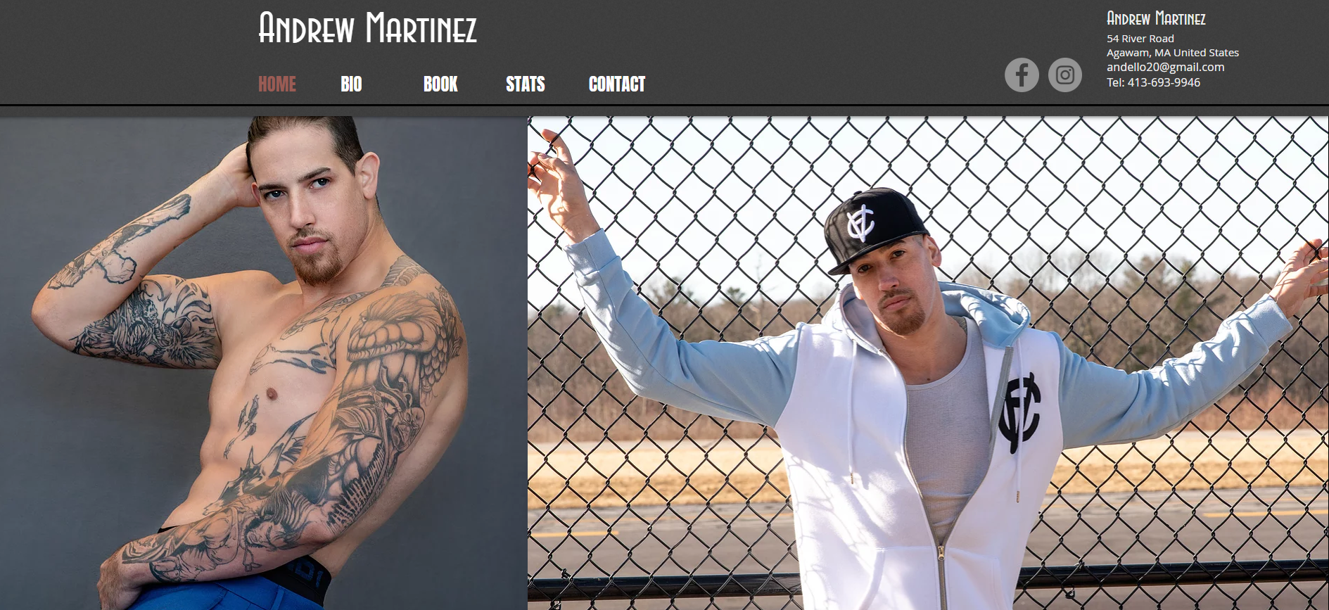 Andrew Martinez Website