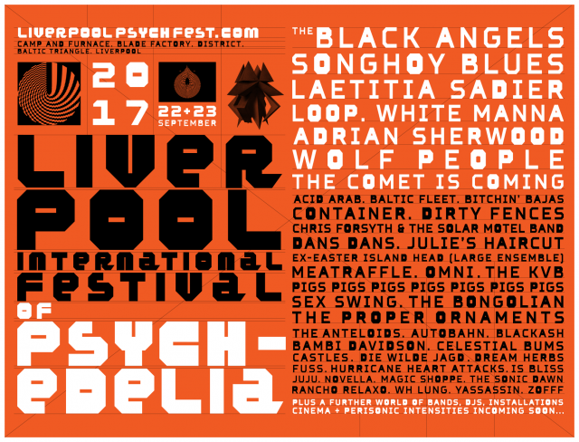 Liverpool Psych Fest lineup