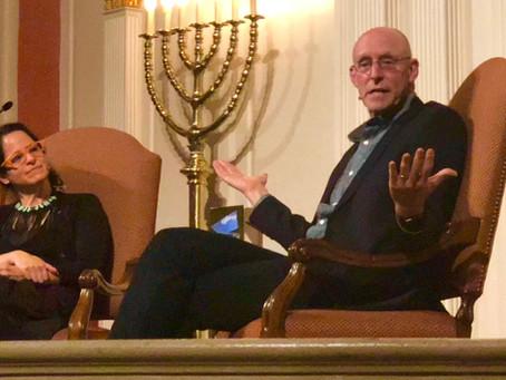 Incredible talk last night with Michael Pollan
