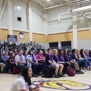 An End to a Four-Year Experience: Senior Rally