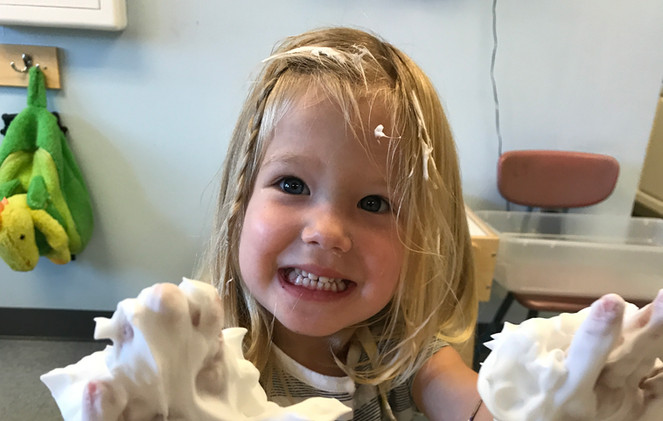 Preschool Prep-Sensory Play