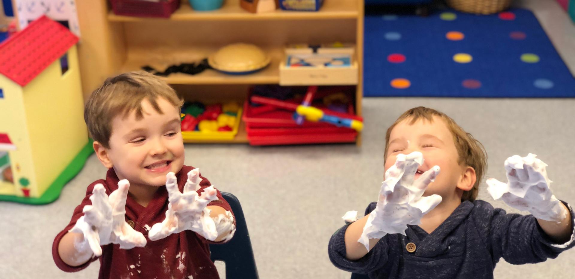 Preschool-Sensory Play