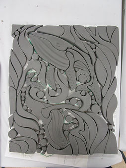 Custom Cut Mosaic Class - Toms Royal @ The Dalles Art Center