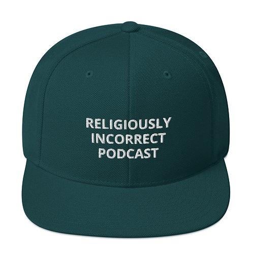 Religiously Incorrect Podcast Snapback Spruce