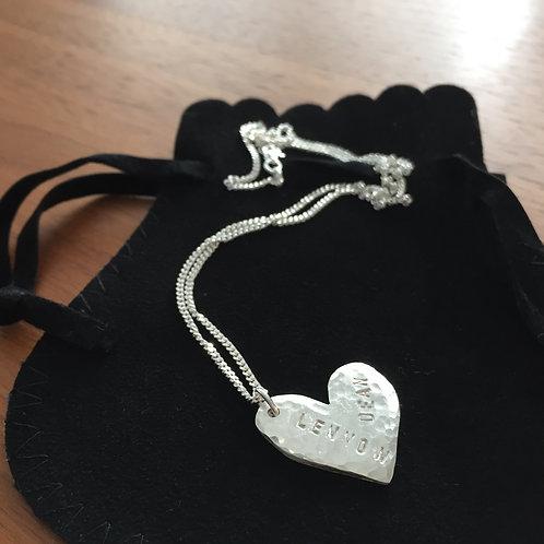 Halskette LoveIsLove klein