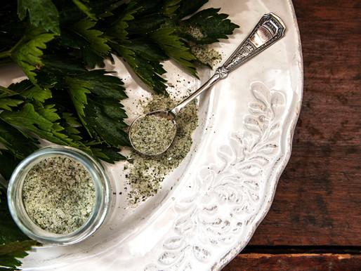 Celery Leaves Salt