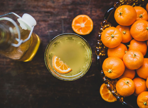 Homemade Citrus Cordial