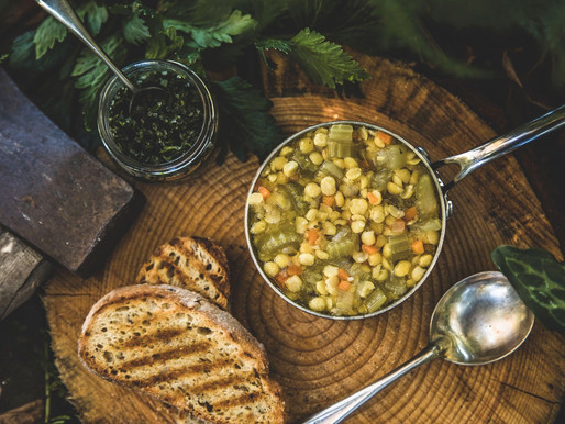 Warming Pea Soup