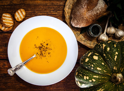 Basic Roasted Pumpkin Soup