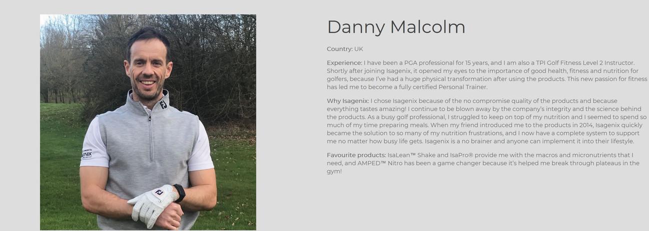 Danny Malcolm