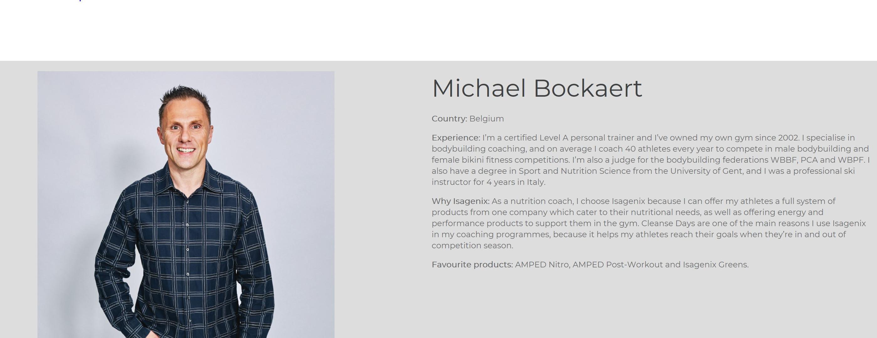 Michael Bockaert