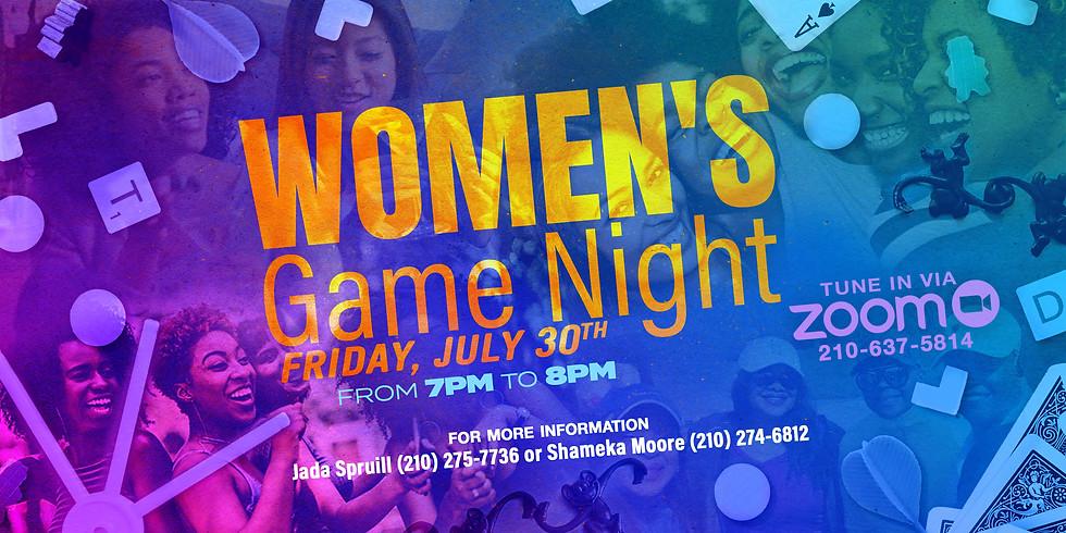 Womens Game Night