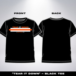 Tear It Down Black $19.99-$22.99