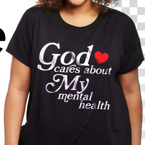 God Cares About My Mental Health Shirt $19.99-$22.99