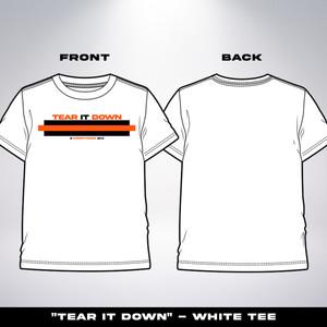 Tear It Down White $19.99-$22.99