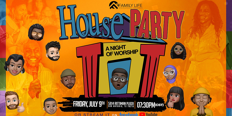 HOUSE PARTY WORSHIP NIGHT